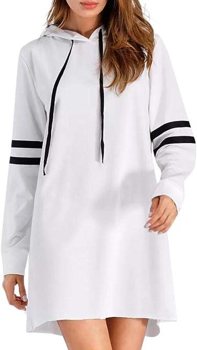 Poachers Robe Pull Sweats A Capuche Femmes Tunique Manche Longue Robe Sweat Long Amazon Fr Vetements Et Accessoires