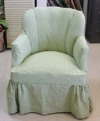A Channel Back Chair with no Seat Cushion: photos and instructions advanced skills (Making Slipcovers the Professional Way Book 10) (Making Chair Seats)