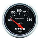 Auto Meter 3531 Sport-Comp Electric Water Temperature Gauge