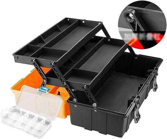 Caballete Artes y Manualidades Caja de Herramientas de Hardware del Artista Art Box multifunción Grande Inicio de reparación Electricista Caja de 49 * 26 * 22cm Artes y Manualidades HUYP: Amazon.es: Hogar