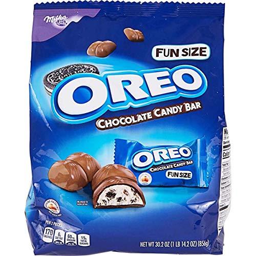 Oreo Chocolate Candy Bar - Fun Size Bars - Bulk Bag (56 Total Bars Per Bag) ()