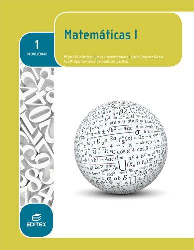 Descargar Libro Matemáticas I 1º Bachillerato Mª José Ruiz Jiménez