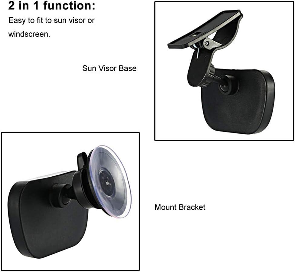 Corrines R/étroviseur Surveillance pour B/éb/é Miroir Auto de Voiture pour B/éb/é Voiture Arri/ère R/étroviseur de Surveillance Pour Scurit/é de B/éb/é 360 /° R/églable Incassable