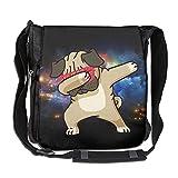 Dog Hip Hop Fashion Print Diagonal Single Shoulder Bag