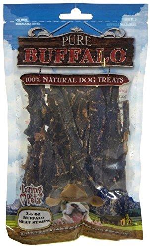 Pure Buffalo Buffalo Meat Strips - 3.5 Oz