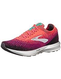 Brooks Women's Levitate 2 Running Shoe (BRK-120279 1B 4083480 8.5 (678) PNK/BLK/AQU)