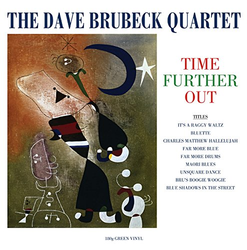 Vinilo : Dave Brubeck Quartet - Time Further Out (Colored Vinyl, Green, 180 Gram Vinyl, United Kingdom - Import)