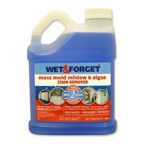Wet and Forget 43 Oz Moss, Mold, Mildew and Algae Stain Remover by Wet and Forget