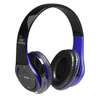 Kobwa P05 auriculares Bluetooth - Auriculares inalámbricos de estéreo de alta fidelidad - plegable Universal auriculares para PC/teléfonos móviles/TV: ...