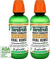TheraBreath 24-Hour Fresh Breath Dentist Formulated Oral Rinse -