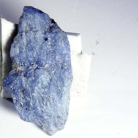 19.20 CTs ~FABULOUS~ GENUINE SUPER RARE BLUE TANZANITE ROUGH UNTREATED SPECIMAN - Genuine Rough