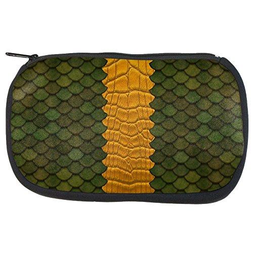 Halloween Green Dragon Makeup Bag Multi Standard One (Halloween Dragon Makeup)