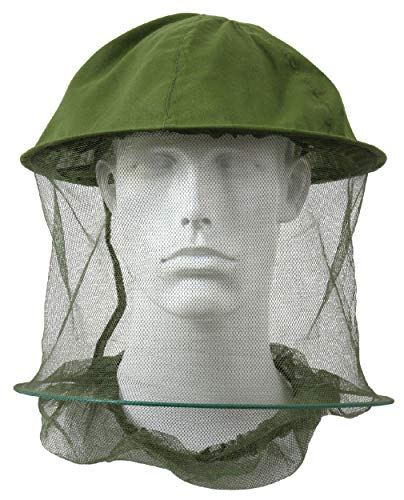 BlackC Sport Olive Drab GI Style Military Insect Head Net Mosquito - Olive Nets Head Drab