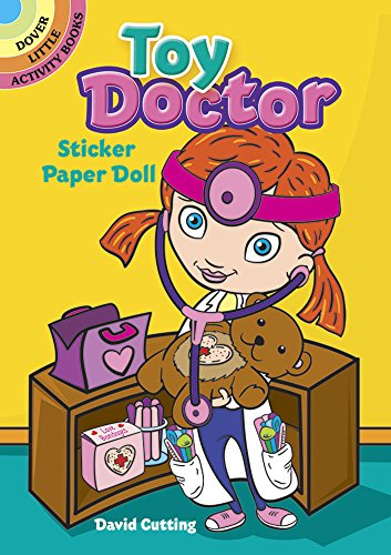 Toy Doctor Sticker Paper Doll