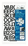 Chartpak Self-Adhesive Vinyl Capital Letters and