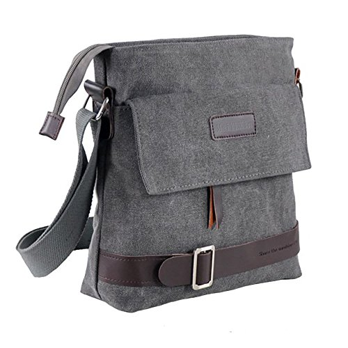 Mfeo-Unisex-Lightweight-Canvas-Outdoor-Travel-Small-Crossbody-Shoulder-Bag