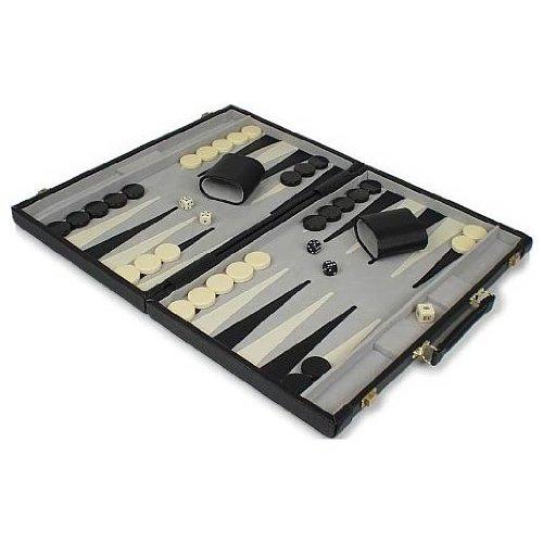Classic Executive Backgammon Attache Board Game, 18 Getting Fit 102982