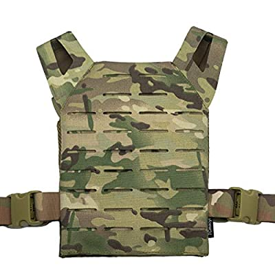 ZIXUN Kids JPC Tactical Vest Nylon Military Shooting Hunting Molle Clothes CS Game Field Combat Training Protective Vest