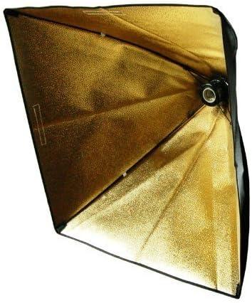 AGG1279 LimoStudio 24 Photo Studio Light Holder with Black//Gold Softbox Lighting Reflector