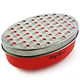 Cheese Grater with Airtight Storage Container - We've Been Rated Best Handheld Shredder for Cheese & Vegetables