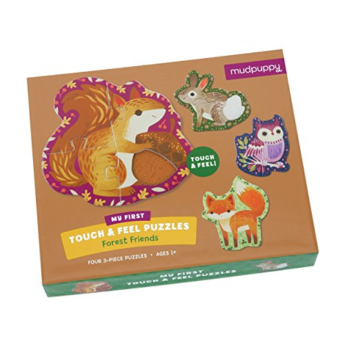 Mudpuppy Forest Friends My First Touch & Feel Puzzles