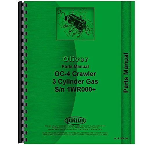 New Oliver OC-4 Crawler Parts Manual
