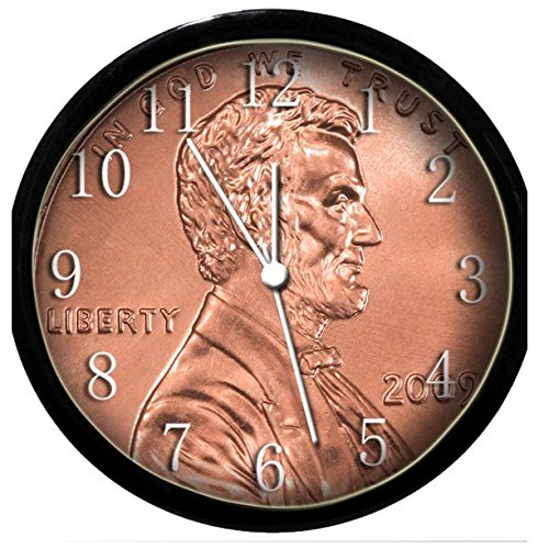 Glow In the Dark Wall Clock - Penny Abraham Lincoln