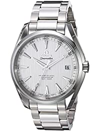 Men's 'Seamaster150' Swiss Automatic Stainless Steel Dress Watch, Color:Silver-Toned (Model: 23110422102003)