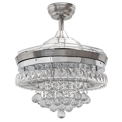 Compare Price Ceiling Fan Crystal On Statementsltd Com