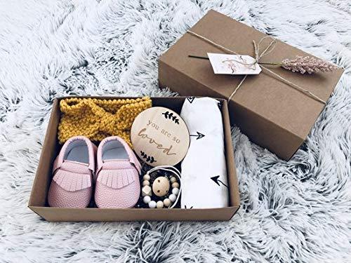 Baby geschenkset Meisje – Kraampakket – Baby Cadeau – Geboorte Cadeau – Babyshower geschenkset