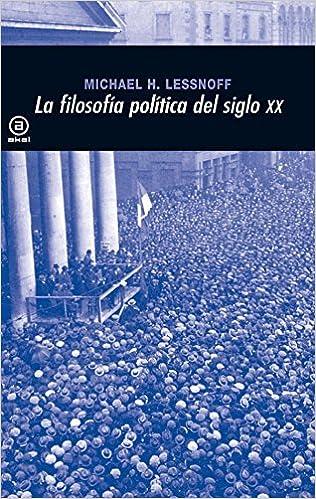 La filosofía política en el siglo XX (Universitaria): Amazon ...