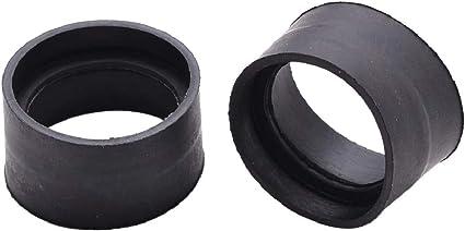 2pcs Soft Rubber Eyepiece Eye Shield 29-30mm Eye Guards Cups For Binocular Microscope - - Amazon.com
