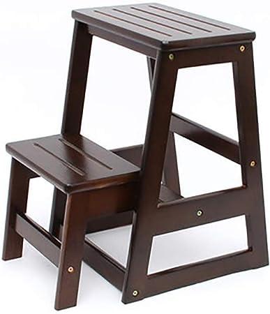 Sedia Scala 2 gradini a massello scala in legno Scala