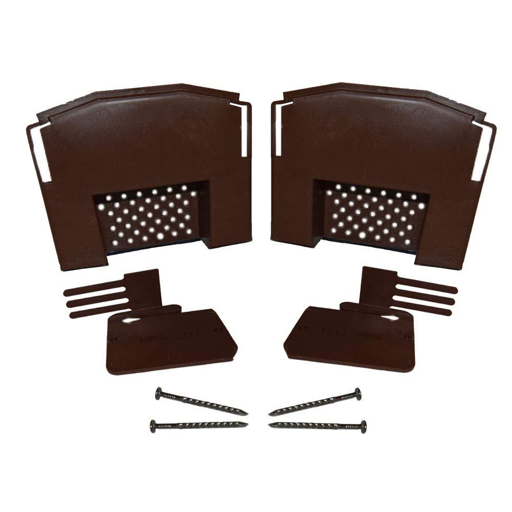 Klober Eaves Starter Kits & End Caps - Dry Verge Starter Kit & Ridge Closure - Black
