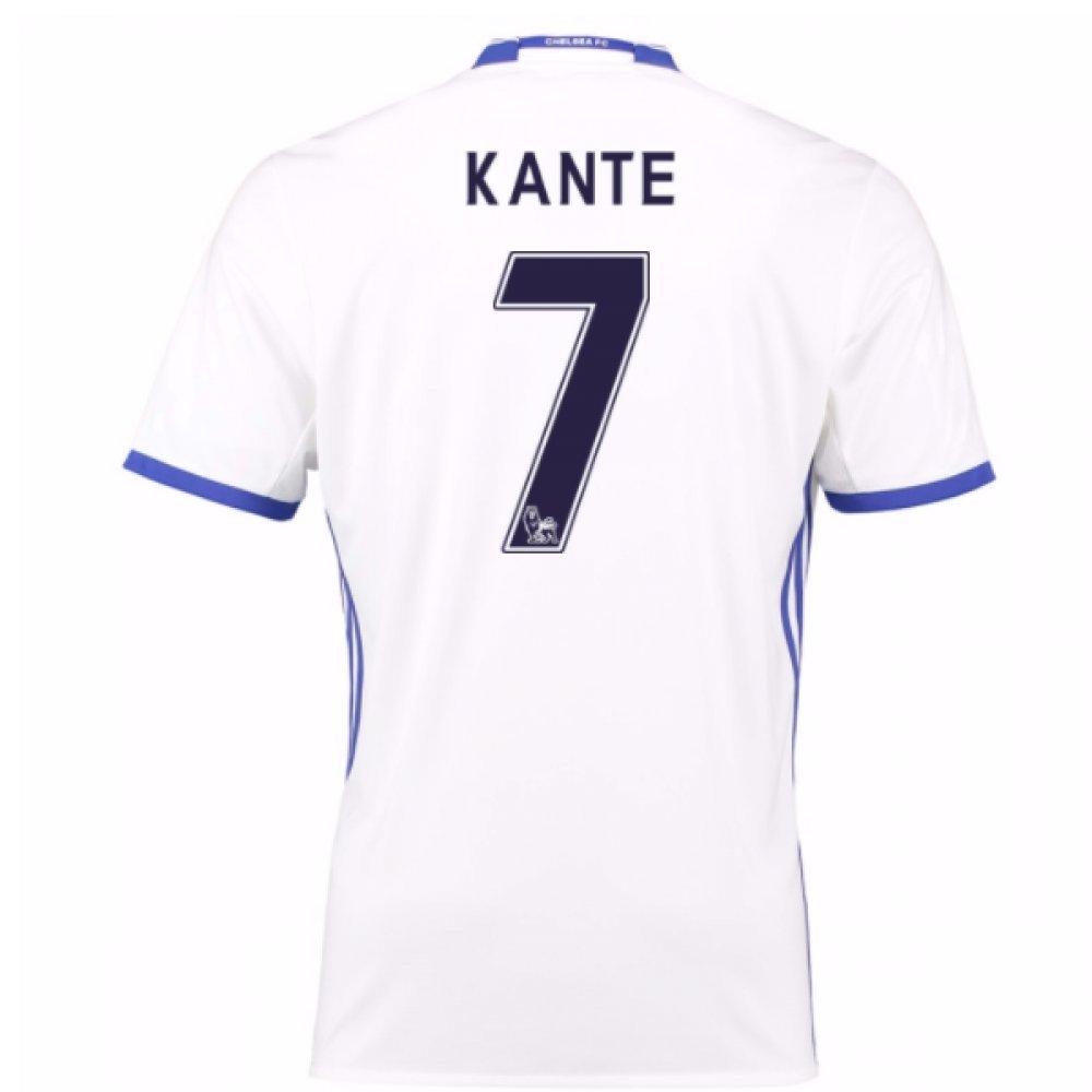 2016-17 Chelsea 3rd Football Soccer T-Shirt Trikot (Ngolo Kante 7) - Kids