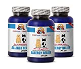 PETS HEALTH SOLUTION cat allergy supplement - PREMIUM ALLERGY RELIEF FOR CATS - IMMUNE SUPPORT - STOP THAT ITCH - TREATS - itch relief cats - 225 Treats (3 Bottle)