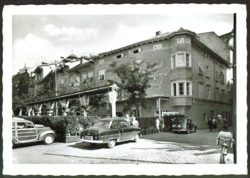 Hotel Grifone Balzano Italy RPPC 1958