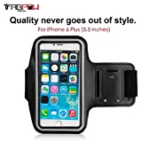 TabPow Black Sports Armband for Apple iPhone 6 - Best Reviews Guide