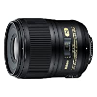 Nikon AF-S FX Micro-NIKKOR 60mm f/2.8G ED Fixed Zoom Lens with Auto Focus DSLR Cameras