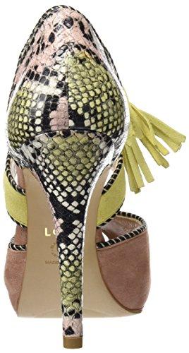 lodi Alejandra, Sandalias con Plataforma para Mujer Varios colores (Ante Rubor-Polen-Nude)