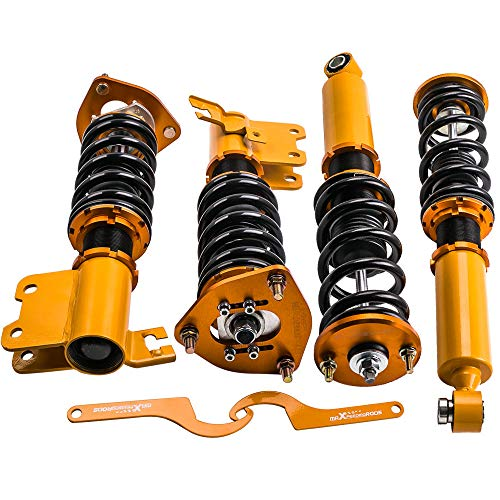 Coilovers for Nissan S13 Silva 89-93/180SX 89-98/Sileighty 98/200SX 89-94/240SX 89-90 Suspension Spring Shock Struts ()