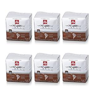 6Paquetes de 18Cápsulas illy Monoarabica Brasil 51Gj789zlRL