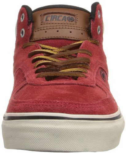 C1rca Mens Union Fashion Sneaker Pompeian Red / Nomad