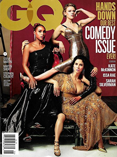 GQ Magazine June 2018 BEST COMEDY ISSUE - KATE McKINNON, ISSA RAE, SARAH SILVERMAN, Steve Martin, Martin Short, Stephen Colbert