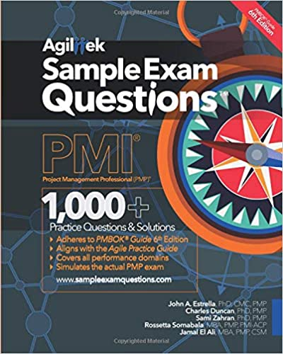 Amazon com: Sample Exam Questions: PMI Project Management