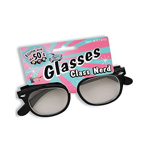 Party Stained Halloween School Nerd Glasses