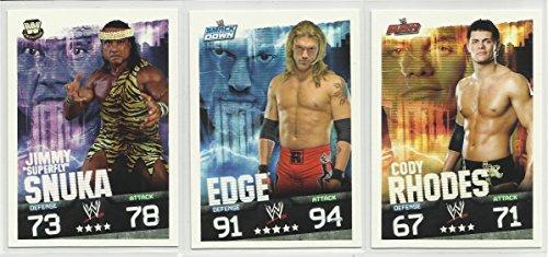 wwe slam attax evolution trading card game - 5