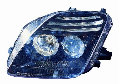 Honda Prelude Headlamp (Depo M17-1103P-AS2 Honda Prelude Black Headlight Projector Assembly)