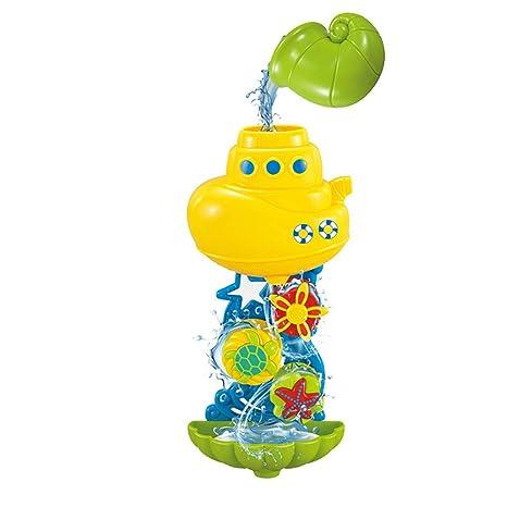 Amazon.com: Ackful🍁Baby Kids Bath Toys Waterwheel Shower Spray ...