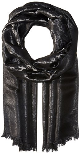 Marc-Jacobs-Womens-Metallic-Monogram-Scarf